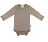 Kyte Baby Bamboo Bodysuit Long -Sleeve in Clay
