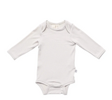 Kyte Baby Bamboo Bodysuit Long -Sleeve in Oat