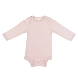 Kyte Baby Bamboo Bodysuit Long-Sleeve in Blush