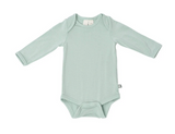 Kyte Baby Bamboo Bodysuit Long-Sleeve in Sage
