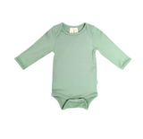 Kyte Baby Bamboo Bodysuit Long-Sleeve in Matcha