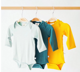 Kyte Baby Bamboo Bodysuit Long-Sleeve in Emerald