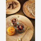 Round Wooden Plate Trays - Set of 3