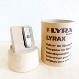 Lyra Sharpener for Crayons and Triangular Pencils (Wood & Cardboard)