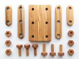 Wooden Mini Constructor Set