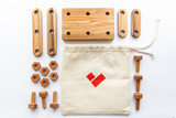 Wooden Mini Constructor Set