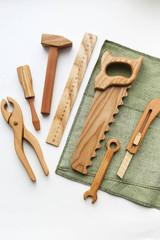 Wooden Tool Set - 7 Tools