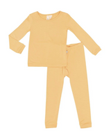 Kyte Baby Bamboo Long Sleeve Toddler Pajamas in Honey
