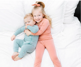 Kyte Baby Bamboo Long Sleeve Toddler Pajamas in Terracotta