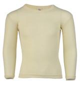 Engel Organic Merino Wool/Silk Kids Shirt - Natural