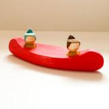 Dark Pink/Red Canoe