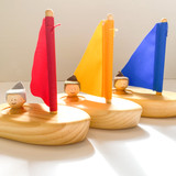 Wooden Sailboat Made in Canada