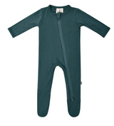 Kyte Baby Bamboo Zippered Footie in Emerald