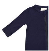 Kyte Baby Bamboo Zippered Footie in Navy