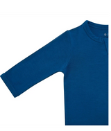 Kyte Baby Bamboo Zippered Footie in Sapphire