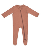 Kyte Baby Bamboo Zippered Footie in Spice