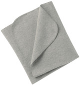 Engel Organic Merino Wool Fleece Baby Blanket - Grey