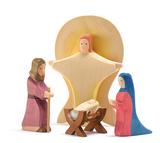 Ostheimer Nativity Figure Jesus - Crib with Child II 2 pc