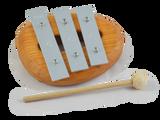 3-Keys Glockenspiel C-E-G