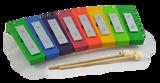 Diatonic Rainbow Glockenspiel 8 Keys