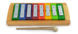 Diatonic Rainbow Glockenspiel with Removable 8 Keys