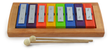 Pentatonic Rainbow Glockenspiel with Removable 8 Keys