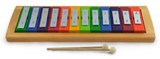 Diatonic Rainbow Glockenspiel with Removable 12 Keys