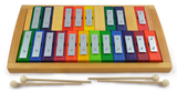 Chromatic Rainbow Glockenspiel with Removable 20 Keys