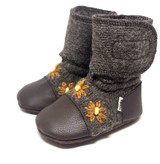 Nooks Wool Booties - Sunflower