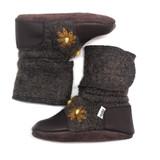 Nooks Wool Booties - Sunflower