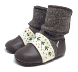 Nooks Wool Booties - Carmanah