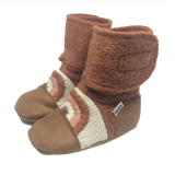 Nooks Wool Booties - Clay