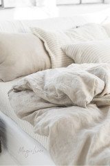 MagicLinen King Sized Pillowcase Cover - Natural