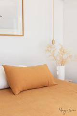 MagicLinen Queen Sized Pillowcase Cover - Tan