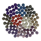Papoose Balls Small (100pc) - Winter Colours