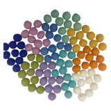 Papoose Balls Large (100pc) - Spring Colours