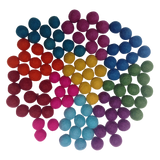 Papoose Balls Large (100pc) - Summer Colours