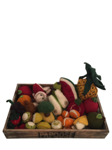 Papoose Crate With Fruit (36pc)