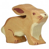 Holztiger Standing Hare with Low Ears (80100)