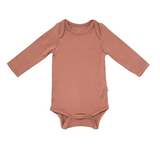 Kyte Baby Bamboo Bodysuit Long-Sleeve in Spice