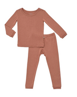 Kyte Baby Bamboo Long Sleeve Toddler Pajamas in Spi