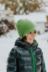 Nooks Upcycled Cashmere Winter Hat