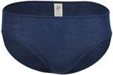 Engel Organic Merino Wool/Silk Women's Bikini Slip - Marine
