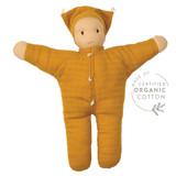 Hoppa Organic Muslin Doll - Matty Ochre