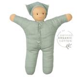 Hoppa Organic Muslin Doll - Matty Green