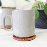 Hasami Porcelain Coffee Mug 13oz - Gloss Grey