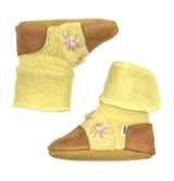 Nooks Wool Booties - Buttercup