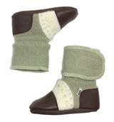 Nooks Wool Booties - Moss