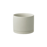 KINTO Plant Pot 191 Earth Grey - 135 mm