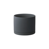KINTO Plant Pot 191 Dark Grey - 135 mm